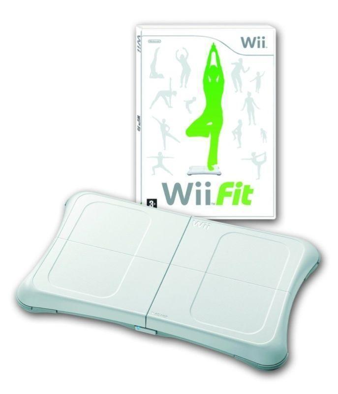 wii fit board and game ebay. Black Bedroom Furniture Sets. Home Design Ideas