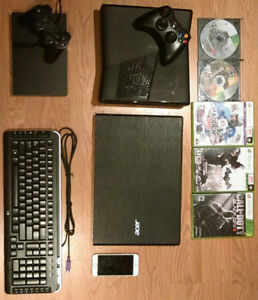 Xbox, Ps2, Pc, Iphone6, Clavier.
