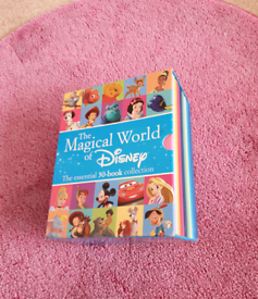 Disney Book Collection and Figurines