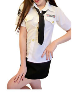 Brand New Army Woman Costume - S/M