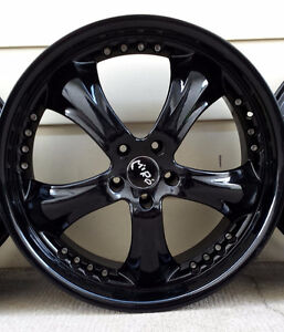 """22"""" powder coated Rims and tires"""