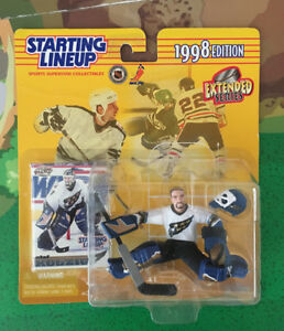 1990s Hockey Collectibles Paul Kariya and Olaf Kolzig