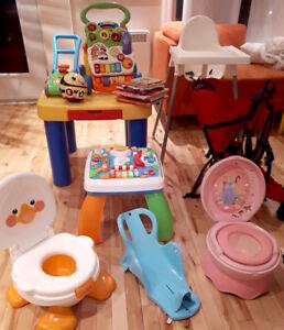 jouets et accessoires pour bébé