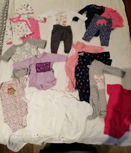 New born (baby girl) clothes