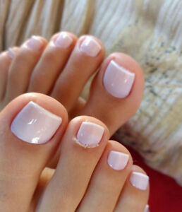 At home manicures and pedicures
