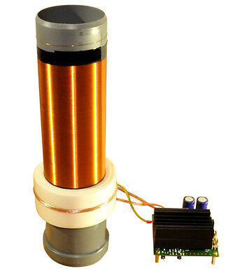 Solid State Tesla Coil 24V SSTC Bausatz kit Teslaspule Teslatrafo [Fertigmodul]