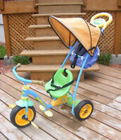 Tricycle 3 en 1 Huffy Push Pedal and Rock