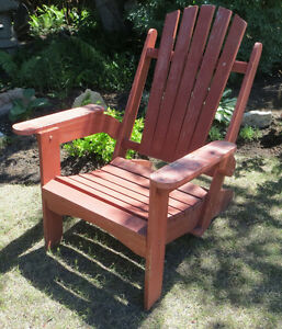 VINTAGE FOLDING ADIRONDACK PATIO CHAIR - GREAT FOR THE CABIN