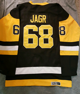 New Pittsburgh Penguins Jagr #68 NHL Hockey Jersey XL