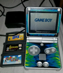 GAMEBOY ADVANCE SP MINT!