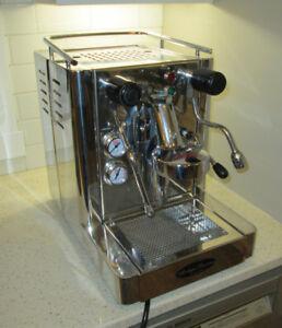 Mazzer mini grinder Quickmill Andreja Premium espresso set