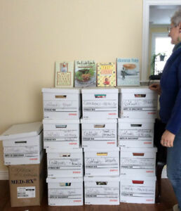 14 Boxes of Cookbooks