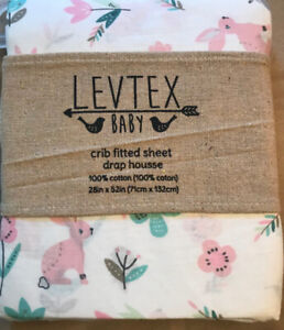 Levtex Baby Fitted Crib Sheet