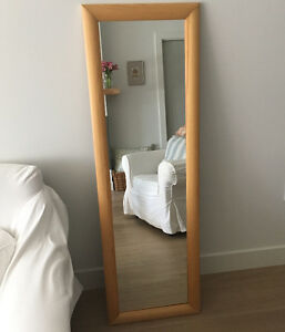 IKEA bookcase and mirror
