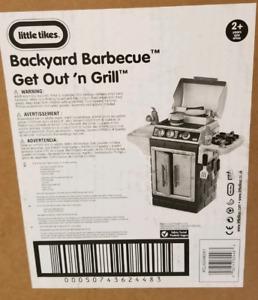 Backyard bbq grill brand new