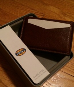 NEW Fossil Card Case
