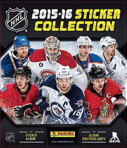 2015-2016 Panini NHL Hockey Stickers 15 - 20 Cents l'unité