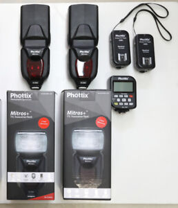 Flash Phottix Mitros+ pour Canon
