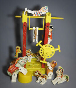 VINTAGE FISHER PRICE JUNIOR CIRCUS.
