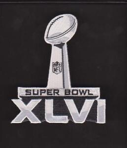 NFL SUPER BOWL XLVI JERSEY PATCH