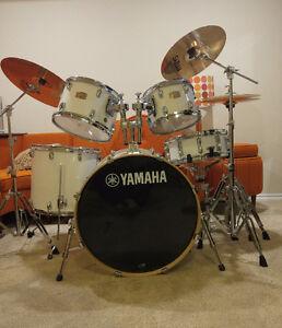 Yamaha Stage Custom 5 Piece drum kit