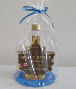 Sale - Leaf Shape Maple Syrup  50ML