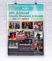 4th annual bluegrass and gospal