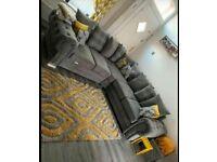 🔵💖🔴AMAZING OFFER🔴Brand New Verona 3+2 / Corner Sofa / Swivel Chair / Footstool