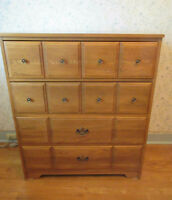 MORIGEAU LEPINE Wood Chest of Drawers