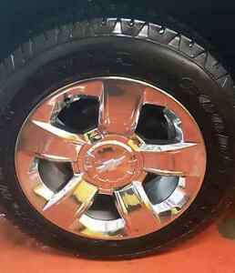 "Take off Goodyear and 20"" chevy rims"