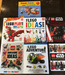 LEGO IDEAS BOOKS & ENCYCLOPEDIAS