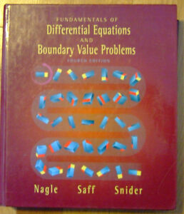 Differential Equations 4th Nagle Saff Snider