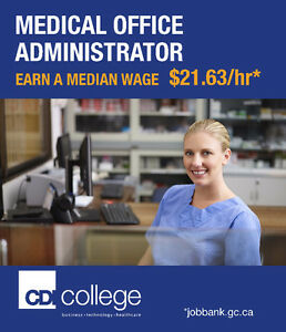 Train to Become a Medical Office Administrator