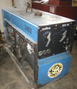 Miller Big 40 engine driven welder