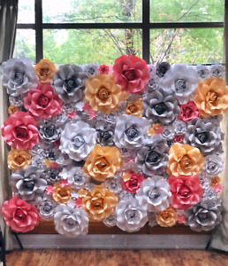 Flower wall 8x8 for sale