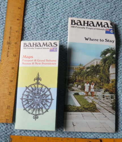 1980 maps &  Where to Stay in the Bahamas