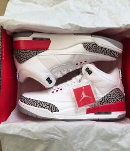 "Air Jordan 3 ""Katrina/Hall of fame"" for sale!!"