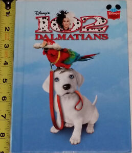 102 Dalmatian Book Hard Cover & 5 Toys