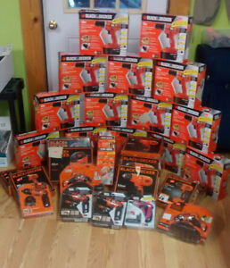 Black and Decker power tool sale