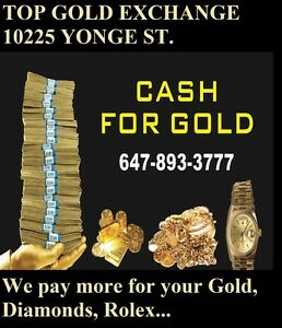 I BUY YOUR NEW & OLD GOLD AND ROLEX. ( I CAN COME TO YOU)