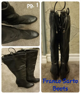 Stylish Boots - Sketchers, Franco Sarto etc.