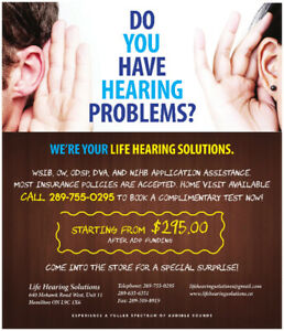 Hearing Aids Special in Hamilton Only from $295 after ADP