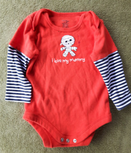 I Love My Mommy, 6 to 12 Month, Long Sleeve Baby Suit.