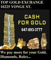 CASH PAID FOR GOLD ON THE SPOT OR. I CAN COME TO YOU