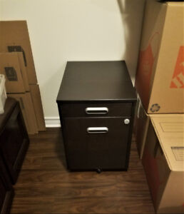Ikea Galant File / Filing Cabinet in Black-Brown - New Condition
