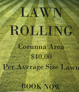 Lawn Rolling Book Now!