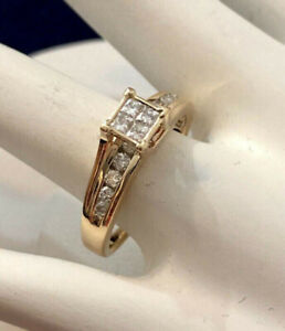14k yellow gold diamond engagement ring ^Compare at $2,600