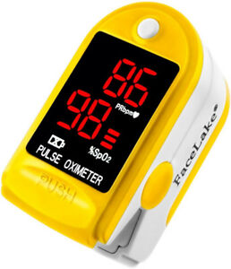 CONTEC Pulse Oximeter CMS50DL In yellow
