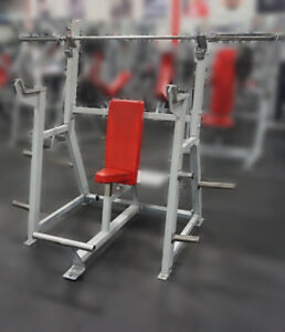 Used Fitness Equipment Olympic Military Bench