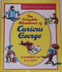 The Complete Adventures of Curious George Hardcover w/slip cover